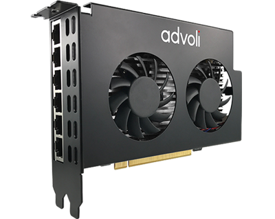 advoli TA6 Distance HDBaseT Graphics Card