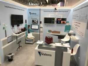 advoli at COMPAMED, Medica 2018 with Valens and HDBaseT Alliance