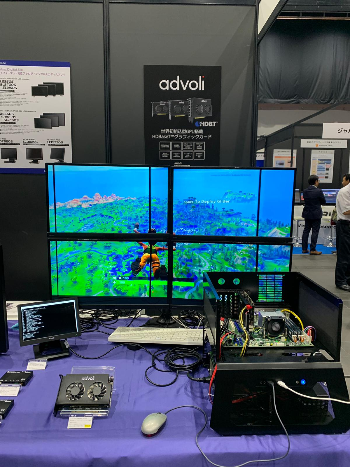 advoli at after NAB 2019 Japan