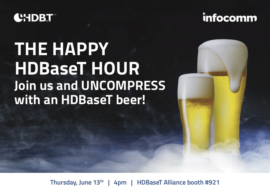 HDBaseT Happy Hour at InfoComm 2019