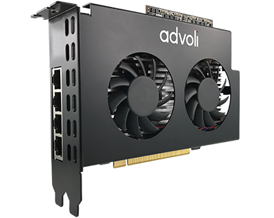 advoli TB4 Performance Light HDBaseT Graphics Card