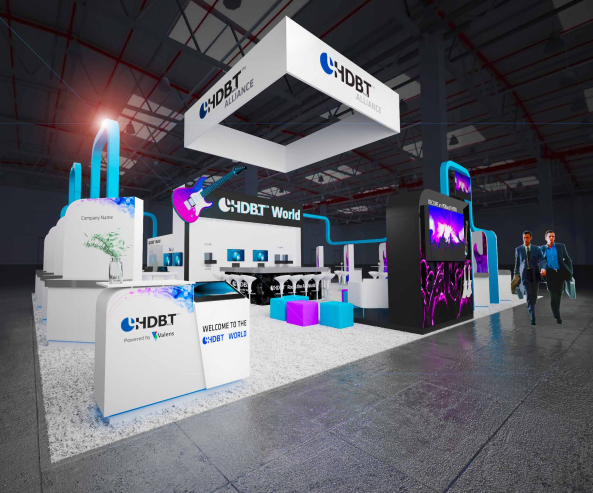 HDBaseT and advoli booth at InfoComm 2019