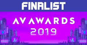 advoli AV Awards 2019 Finalist with TA4E video cards.
