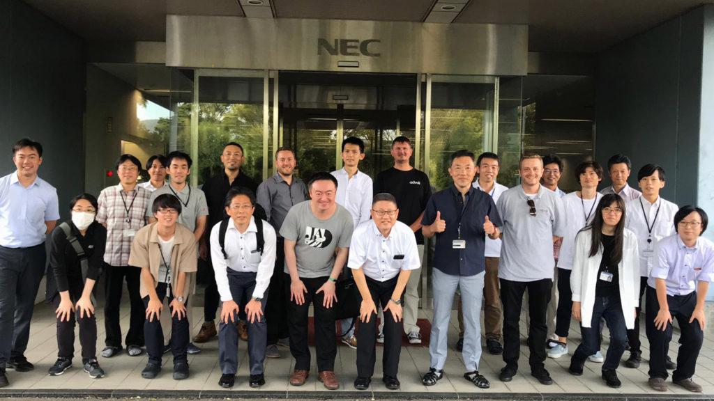 HDBaseT Plugfest 2019 Team 1 at NEC