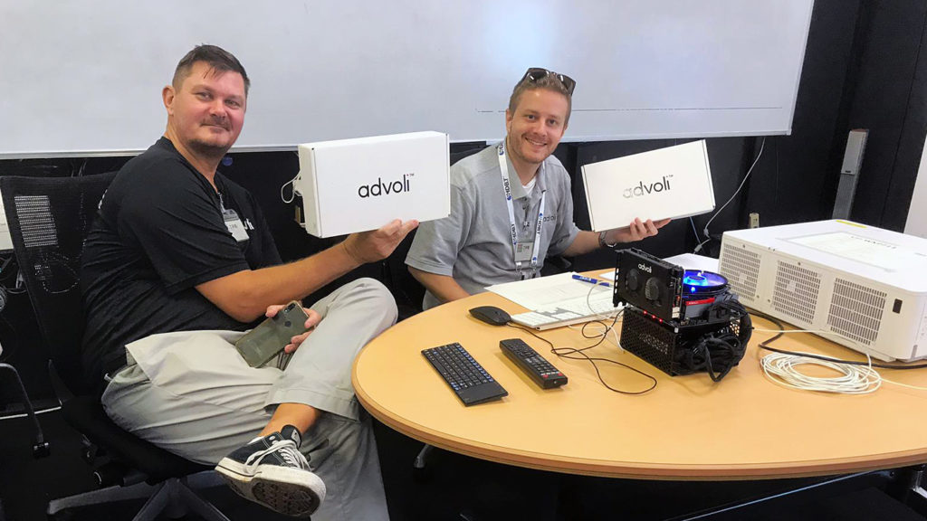 Clas and Paul of advoli ready to test
