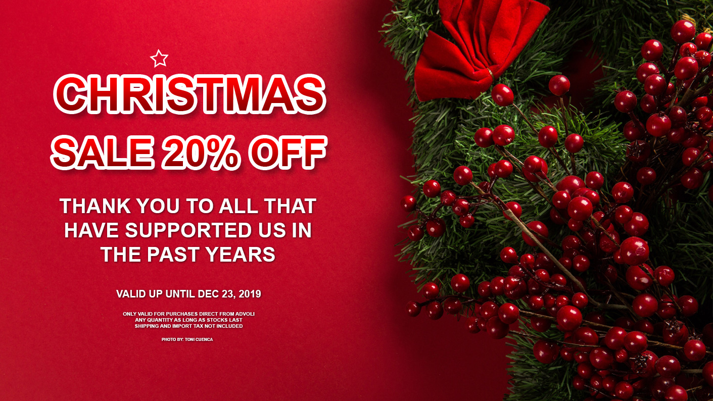 2019 Christmas Discount advoli